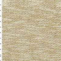 Beige/Brown Chenille Dobby Texture Home Decorating Fabric