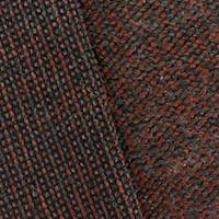 *2 5/8  YD PC--Amber/Grey Wool Blend Texture Sweater Knit