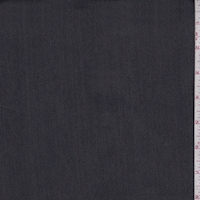 *2 3/8 YD PC--Pewter/Black Reversible Cotton Stretch Twill