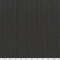 *4 YD PC--Black/Brown/Gray Wool Stripe Twill Jacketing