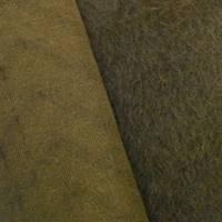 *2 YD PC--Brown Brushed Pile Wool Blend Knit Jacketing
