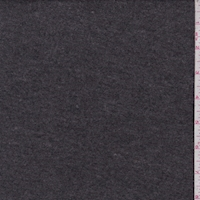 *1 1/4 YD PC--Heather Charcoal Sweater Jersey Knit