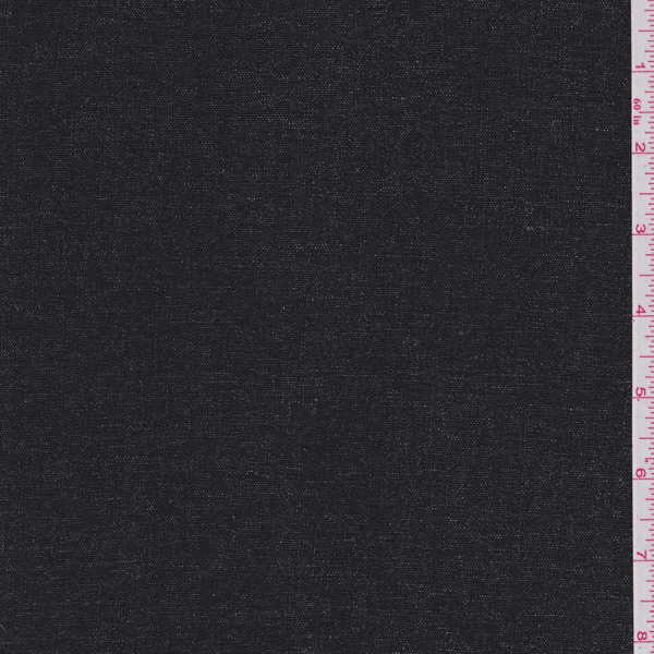 Black Metallic Linen - 20204 Discount Fabrics