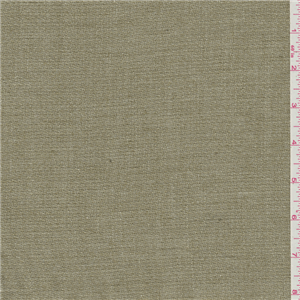 Golden Sage Green Wool Suiting