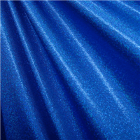 Royal Hologram Mini Dot Bolt Metallic Blue Print On Spandex Fabric 4 Way Stretch Suitable For Dancewear Apparel
