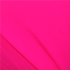 Neon Pink Shiny Tricot Bolt Shmts09 Fashion Fabrics