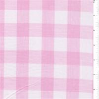 Pink 1 Inch Gingham Bolt