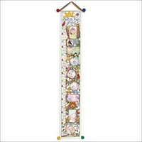 Ready To Stitch Baby Collection Vinyl Growth Chart 8X52-White 13 Count