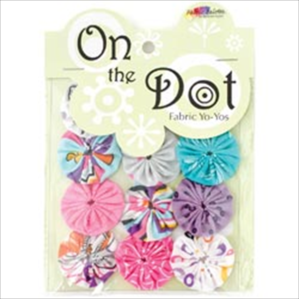 Fabric Palette On The Dot Yo-Yos 1.5 100% Cotton 10/Pkg-Cordero