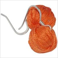 Yarn Ball Earrings 2/Pkg-Orange