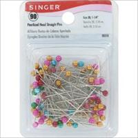Pearlized Head Straight Pins-90/Pkg