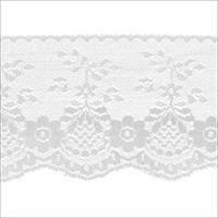 Fancy Lace 3-1/2 Wide 12 Yards-White