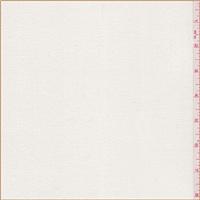 *5 YD PC--Creamy Ivory Pique Velvet