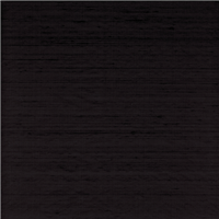 *2 1/2 YD PC--Black Silk Dupioni