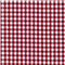 *2 3/4 YD PC--Burgundy 1/4 Inch Gingham