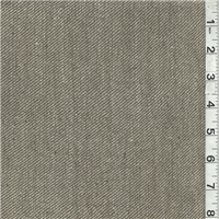 *1 YD PC--Olive Green/Ivory Silk Suiting