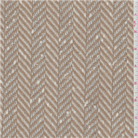 *2 YD PC--Tan Herringbone Boucle Coating