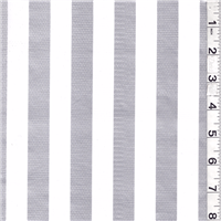 *3 1/2 YD PC--Silver Gray/White Oilcloth