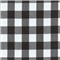 *1 YD PC--Black 1 Inch Gingham