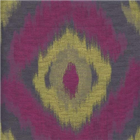 *10 YD PC--Silhouette Purple Woven Ikat Drapery Fabric