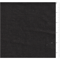 *3 3/8 YD PC--Black Vintage Linen Look