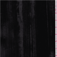 *1 1/2 YD PC--Black Crushed Velvet