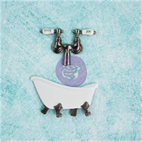 Shabby Chic Metal Treasures-Antique Clawfoot Tub W/Faucet