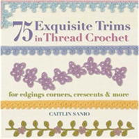 St. Martin's Books-75 Exquisite Trims In Thread Crochet
