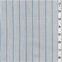 *1 3/4 YD PC--Blue/Tan Stripe