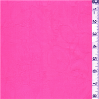 *1 5/8 YD PC--Pink Floral Jacquard
