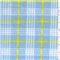 *2 YD PC--Blue Plaid Fleece
