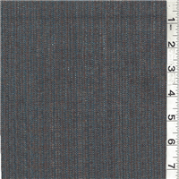 *7/8 YD PC--Brown/Teal Wool Jacketing