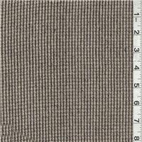*2 YD PC--Black/Gray Blue Silk Suiting