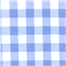 *3/4 YD PC--Blue 1 Inch Gingham