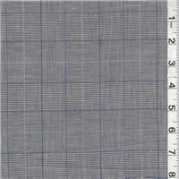 *4 YD PC--Blue/Black Suiting