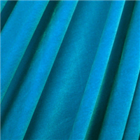 *3 YD PC--Turquoise Stretch Velvet