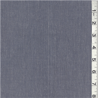 *3 3/8 YD PC--Steel Blue Cotton Suiting