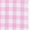 *7/8 YD PC--Pink 1 Inch Gingham