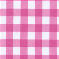 *4 YD PC--Pink 1 Inch Gingham
