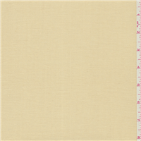 *2 YD PC--Butter Yellow Linen Suiting