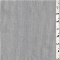 *1 1/4 YD PC--Grey Pincord Suiting