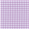 *1 YD PC--Lilac 1/4 Inch Gingham