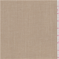 *1 YD PC--Sandy Brown Linen Look