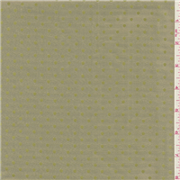 *5 1/2 YD PC--Celery Green Dot Taffeta