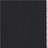 *3 YD PC--Black/Charcoal Wool Suiting