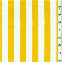 *7/8 YD PC--Yellow/White Oilcloth