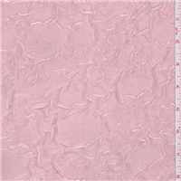 *3 YD PC--Pink Crushed Stretch Velvet