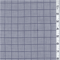 *7/8 YD PC--Blue Print Cotton