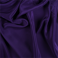 Purple Silk Crepe de Chine