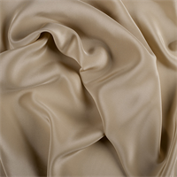 Gold Silk Crepe de Chine